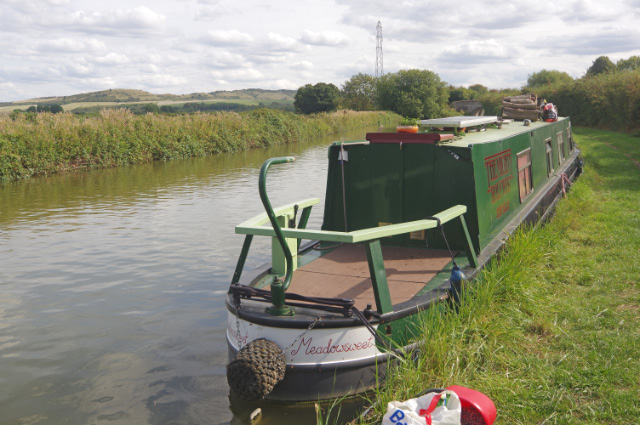 'Meadowsweet' at Ivinghoe Locks