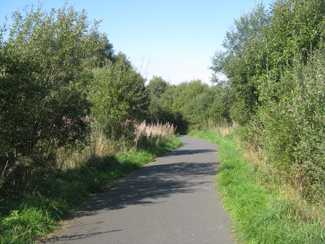 NCN75 at Easter Inch Moss