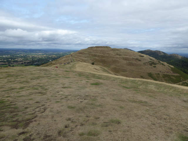 British Camp from Millennium Hill in the Malvern Hills