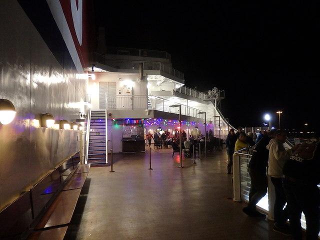 Stena Hollandica, open deck