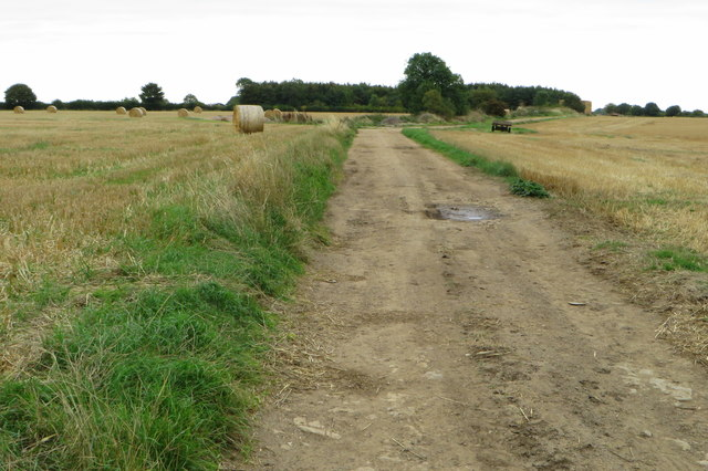 Track towards the airfield
