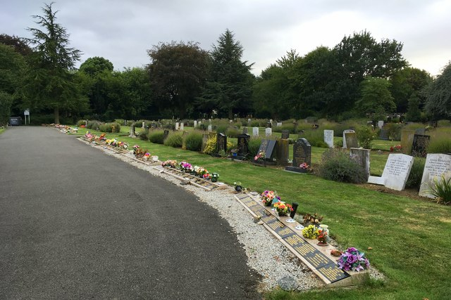 Yaxley cemetery