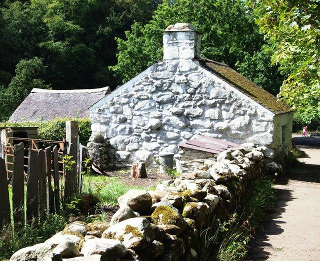 Llainfadyn Cottage, St Fagans Museum, Cardiff