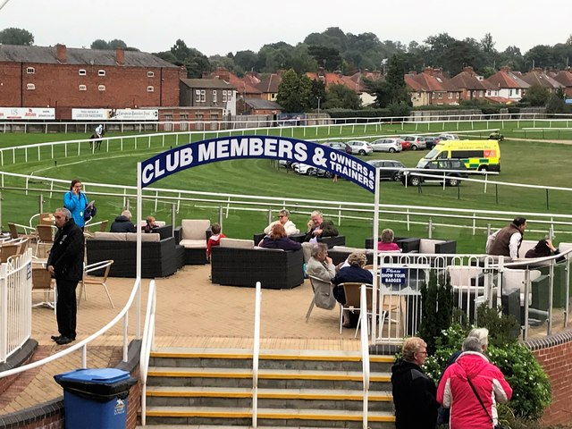 Leicester Racecourse - Owners and Trainers hospitality area