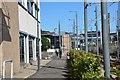 NT2373 : Cyclepath near Haymarket Station, Edinburgh by Jim Barton