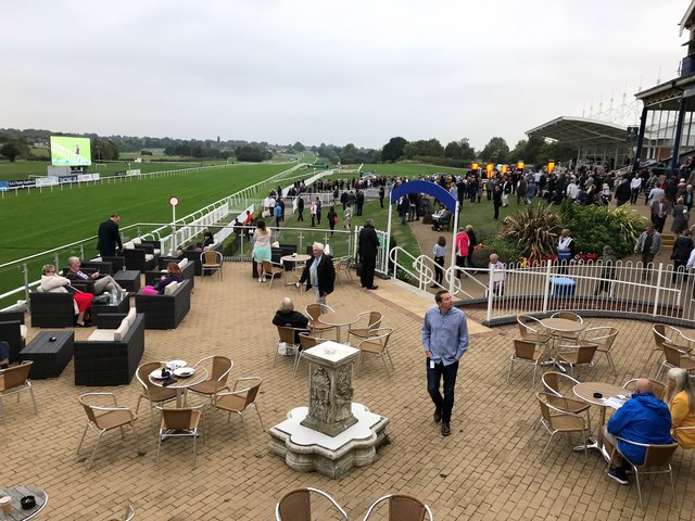 Leicester Racecourse - A view from the owners and trainers upper terrace