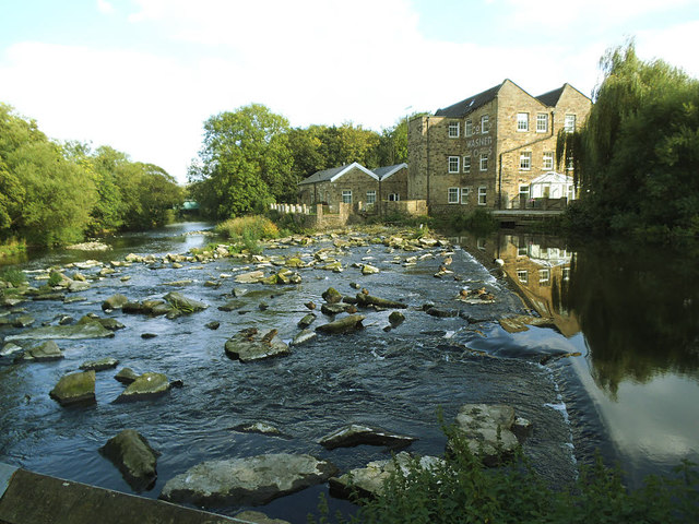Remains of Hirst Mill Weir