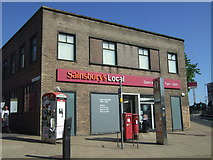 SK3487 : Sainsbury's Local on Upper Hanover Street, Sheffield by JThomas
