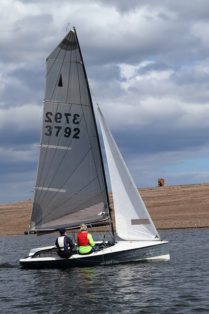 Sailing on the River Tweed Estuary