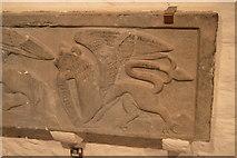 S0740 : Dragon sculpture, Rock of Cashel by N Chadwick