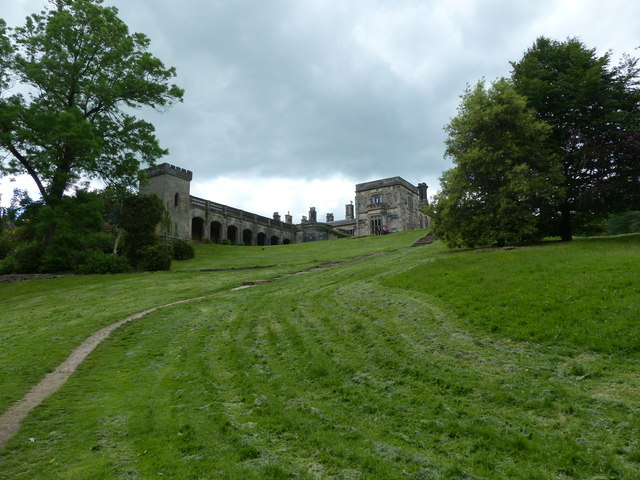 Grounds of Ilam Hall
