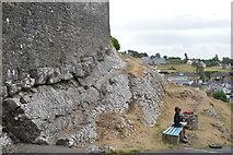S0740 : Fiddling outside The Rock of Cashel by N Chadwick