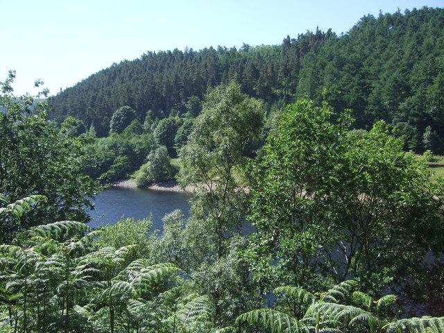 A glimpse of Ladybower Reservoir