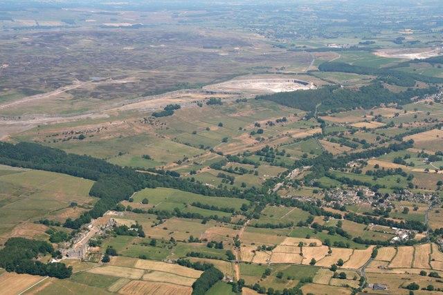 Castle Bolton: aerial 2018