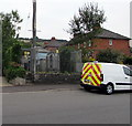 SY6097 : Council Houses electricity substation, Maiden Newton by Jaggery