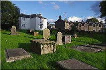 SD4983 : St. Peter's church graveyard by Ian Taylor