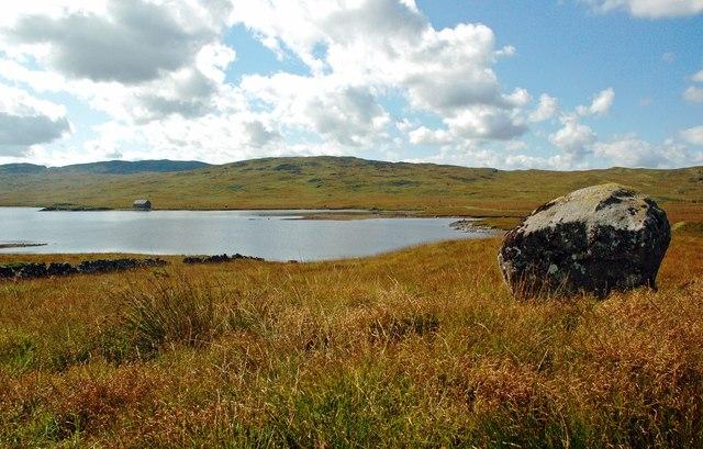 Glacial Erratic Near Loch Finlas