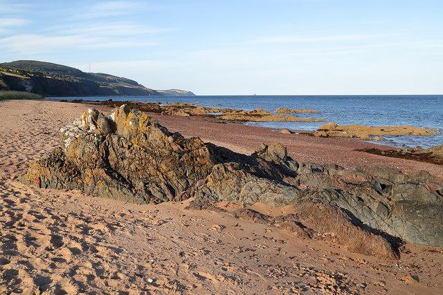 The coastline near Rosemarkie