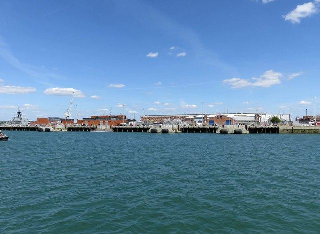 North Railway Jetty in Portsmouth