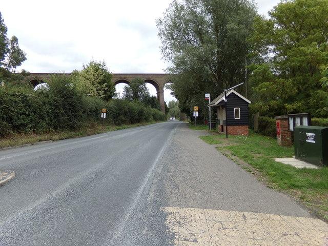 2cd1188e39e A1124 Colchester Road & Chappel Viaduct © Adrian Cable :: Geograph ...