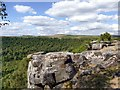 SK2773 : Rock outcrop on Gardom's Edge by Graham Hogg
