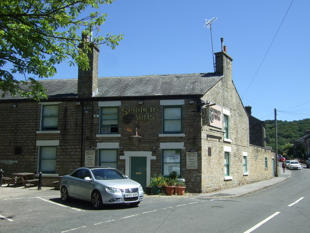 The Spinners Arms, Hadfield