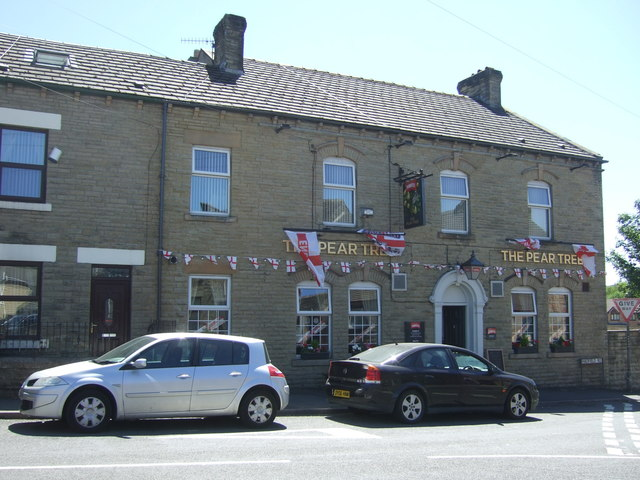 The Pear Tree public house, Hadfield