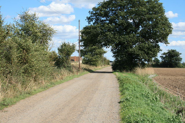 Road to Culvert's Farm