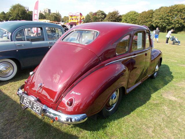 1950 Jowett Javelin at the Peterborough Classic Vehicle Show, September 2018