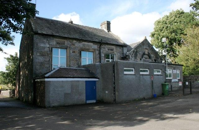 Baldernock Primary School from the rear