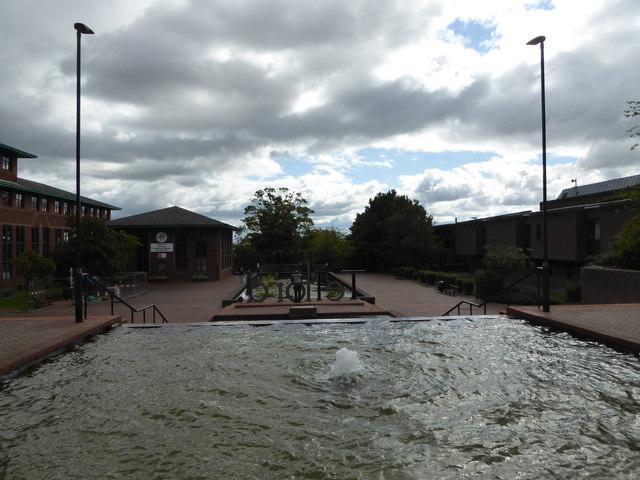 In Telford Civic Centre