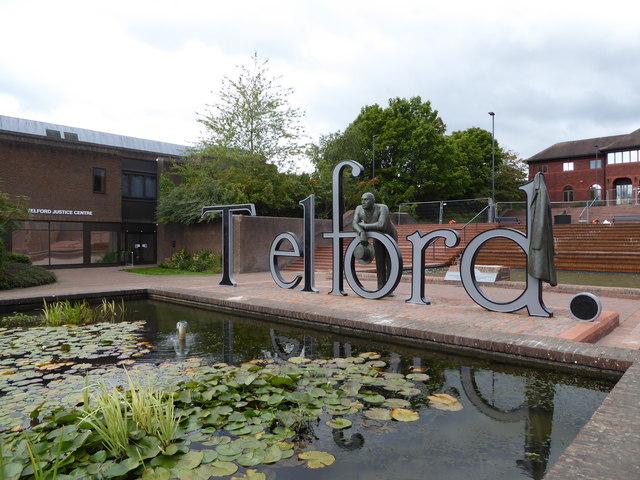 Public art in Telford Civic Centre