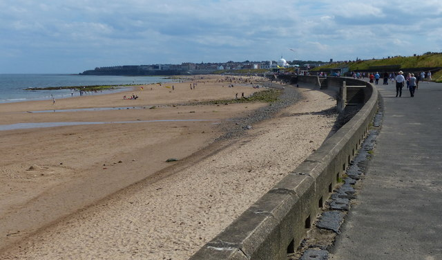 Northern Promenade at Whitley Sands