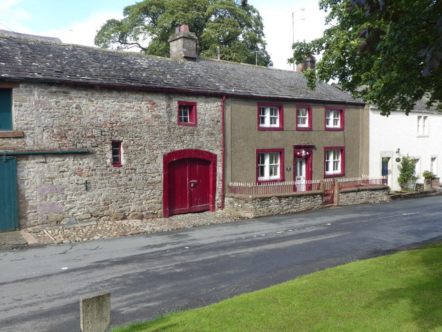 Old houses in Askham