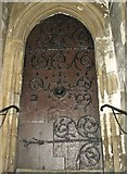 TG2308 : Norwich's oldest working door by Evelyn Simak