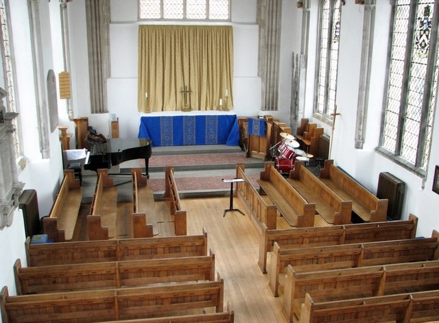 Carnary Chapel – view from the organ gallery