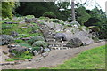 ST0972 : Steps in rockery, Dyffryn Gardens by M J Roscoe