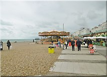 TQ3103 : Brighton, carousels by Mike Faherty