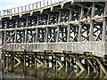 NZ2362 : Dunston Staiths - detail (6) by Mike Quinn