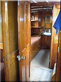 TG3724 : The Wherry Yacht 'Norada' - one of the cabins by Evelyn Simak