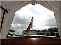 TG3724 : The Wherry Yacht 'Norada' - the well by Evelyn Simak