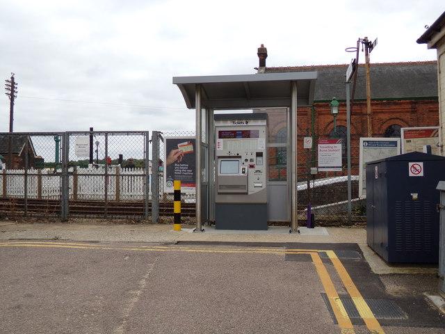 Railway Station Ticket Machine