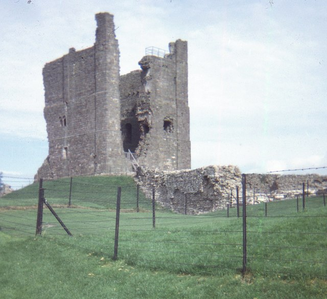 Remains of Brough Castle (1970)