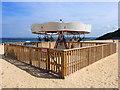 SW5240 : Carousel on Porthminster Beach, St Ives : Week 36