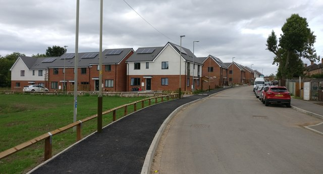 New housing at St Mary's Park