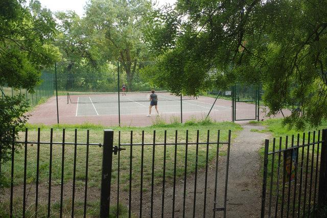 Tennis court - Streatham Common