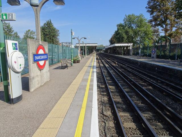 Snaresbrook Underground station, Greater London