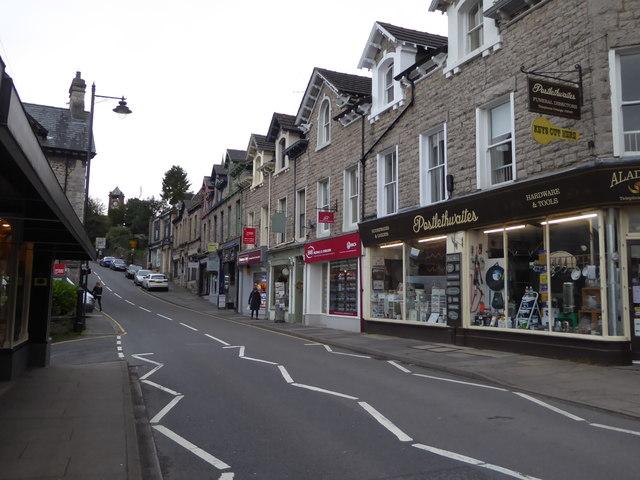 Grange-over-Sands town centre