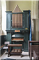 TF2274 : Organ, St Swithin's  church, Baumber by Julian P Guffogg