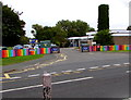 ST5484 : Entrance to Severn Beach Primary School by Jaggery